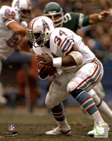 Earl Campbell Rushing Action Fine-Art Print