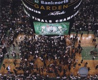 TD Banknorth Garden, Game 6 of the 2008 NBA Finals; Celebration #28 Fine-Art Print