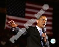 Barack Obama Aberdeen Civic Arena May 31, 2008 in Aberdeen, South Dakota; #76 Fine-Art Print