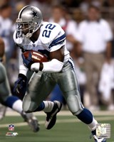 Emmitt Smith 2002 Rushing Action Fine-Art Print