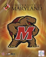 University of Maryland 2008 Logo Fine-Art Print