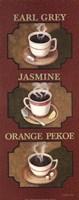 Tea Triptych Fine-Art Print