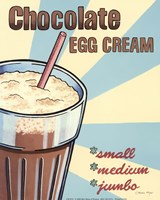 Chocolate Egg Cream Fine-Art Print
