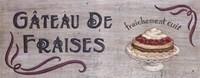 Gateau de Fraises Fine-Art Print