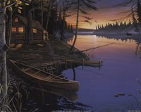Canoe at the Cabin Fine-Art Print
