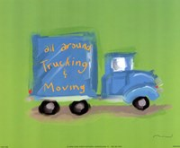 All Around Trucking Fine-Art Print