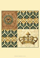 Regal Heraldry I Fine-Art Print