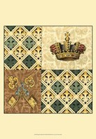 Regal Heraldry III Fine-Art Print