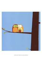 Tree-top Owls IV Fine-Art Print