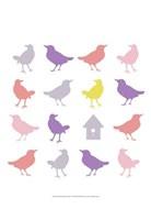 Animal Sudoku in Pink I Fine-Art Print