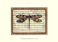 Dragonfly Harmony I Fine-Art Print
