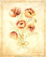 Textured Bouquet III Fine-Art Print