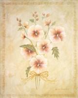 Textured Bouquet I Fine-Art Print