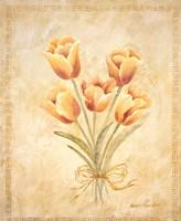 Textured Bouquet IV Fine-Art Print