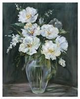 Silver Flowers Fine-Art Print
