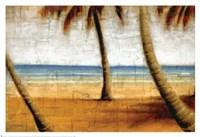 Beach Scene I Fine-Art Print