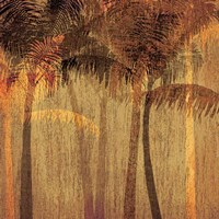 Sunset Palms I Fine-Art Print