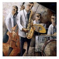 Jazz En Vivo Fine-Art Print