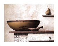 Bowl and Pear Fine-Art Print