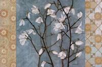 Patterned Magnolia Branch Fine-Art Print