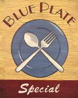 Blue Plate Special Fine-Art Print