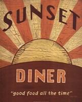 Sunset Diner Fine-Art Print