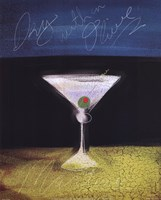 Dry Martini with Olive Fine-Art Print