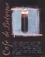 Cafe De Belgique Fine-Art Print