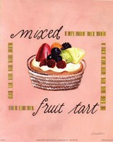 Mixed Fruit Tart Fine-Art Print