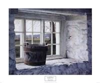Springhouse Window Fine-Art Print