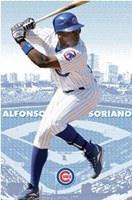 Cubs - Soriano Wall Poster
