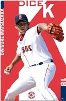Red Sox - Matsuzaka Wall Poster