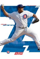 Chicago Cubs - Zambrano Wall Poster