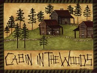 Cabin in the Woods Fine-Art Print