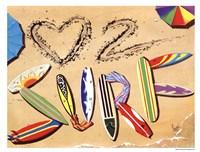 Love 2 Surf Fine-Art Print