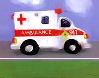 Ambulance Fine-Art Print
