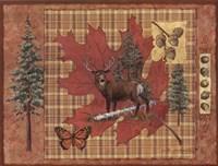 Deer Leaf Fine-Art Print