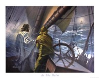 At The Helm Fine-Art Print