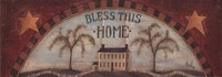 Bless This Home - with stars Fine-Art Print