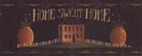 Home Sweet Home - tan house Fine-Art Print