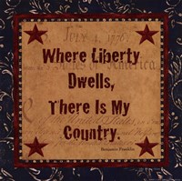 Where Liberty Dwells Fine-Art Print