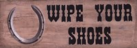 Wipe Your Shoes Fine-Art Print