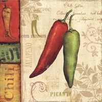 Hot & Spicy I Fine-Art Print