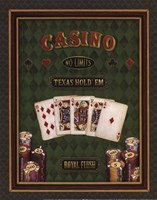 Texas Hold 'Em - mini Fine-Art Print