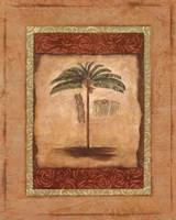 Palm Botanical Study II - mini Fine-Art Print