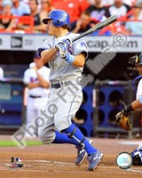 Ian Kinsler 2008 Batting Action Fine-Art Print