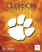 2008 Clemson University Team Logo Fine-Art Print