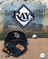 2008 Tampa Bay Rays Team Logo Fine-Art Print