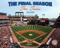 2008 Shea Stadium Final Season With Overlay Fine-Art Print