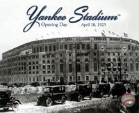 Yankee Stadium 1923 Opening Day With Overlay Fine-Art Print